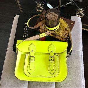 The Cambridge Satchel Company Neon Crossbody Bag